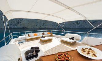 Semaya yacht charter Anastassiades & Tsortanides Motor Yacht