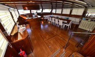 Lycian Queen yacht charter Custom Motor/Sailer Yacht