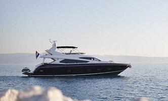 Black Mamba yacht charter Sunseeker Motor Yacht