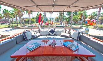 Dragut yacht charter Bodrum Shipyard Sail Yacht