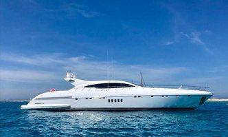 Belisa yacht charter Overmarine Motor Yacht