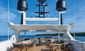 Mr T yacht charter Baglietto Motor Yacht