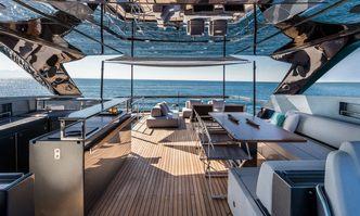 Basilic yacht charter Riva Motor Yacht