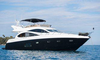 Lazy P yacht charter Sunseeker Motor Yacht