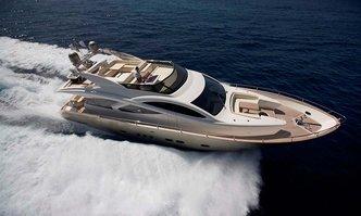 Blue Angel yacht charter Evo Marine Motor Yacht