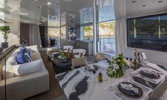 Dinaia yacht charter Sanlorenzo Motor Yacht