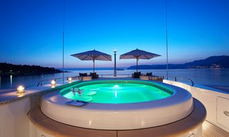 Mimi yacht charter Benetti Motor Yacht
