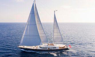 Xasteria yacht charter Perini Navi Sail Yacht