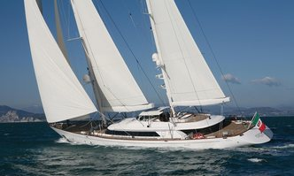 Rosehearty yacht charter Perini Navi Sail Yacht