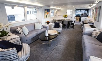Templar yacht charter Alloy Yachts Motor Yacht