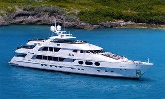 Lady Joy yacht charter Christensen Motor Yacht