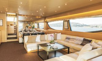 This is Mine yacht charter Posillipo Motor Yacht