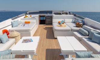 Grace yacht charter Sanlorenzo Motor Yacht