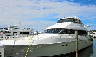 Andiamo yacht charter Lazzara Motor Yacht