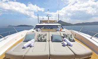 Settlement yacht charter Sunseeker Motor Yacht