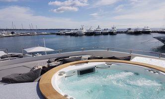 Awol yacht charter Sanlorenzo Motor Yacht
