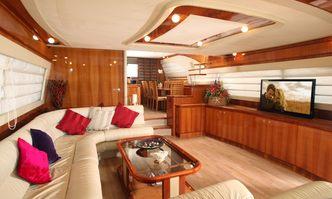 Pampero yacht charter Ferretti Yachts Motor Yacht
