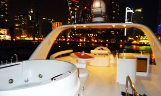 Lady Bella yacht charter Dubai Marine Motor Yacht