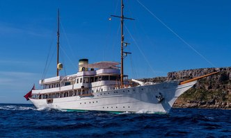 Haida 1929 yacht charter Krupp Germaniawerft Motor Yacht