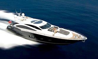 Blade 6 yacht charter Sunseeker Motor Yacht