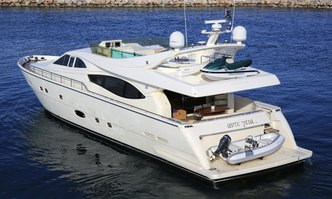 Ade Yeia yacht charter Ferretti Yachts Motor Yacht