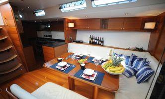 Eline yacht charter Custom Sail Yacht