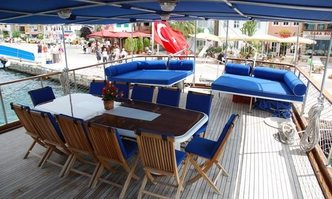 Lord of the Blue yacht charter Custom Sail Yacht