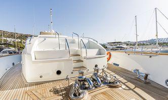Sanref yacht charter Falcon Motor Yacht