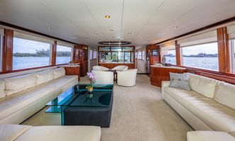 IV Tranquility yacht charter Lazzara Motor Yacht