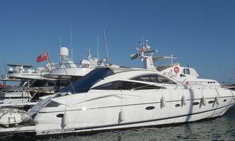 Lara Sofia yacht charter Sunseeker Motor Yacht