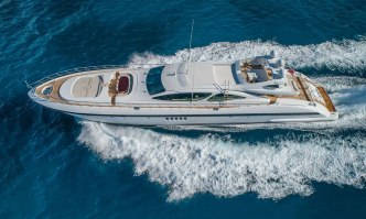 Jomar yacht charter Overmarine Motor Yacht