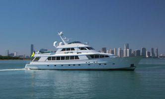 El Jefe yacht charter Derecktor Shipyards Motor Yacht