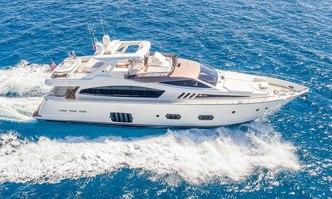 Bizman yacht charter Ferretti Yachts Motor Yacht