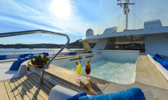 Serenity yacht charter Austal Motor Yacht