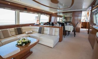 Leonida 2 yacht charter Falcon Motor Yacht