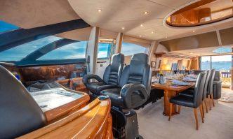 Leolena yacht charter Sunseeker Motor Yacht
