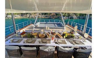 Queen of Makri yacht charter Custom Sail Yacht