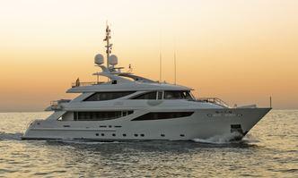 Aziza yacht charter ISA Motor Yacht