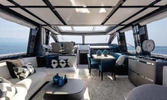 Never Give Up yacht charter Azimut Motor Yacht