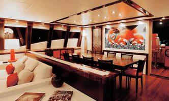 Dragon yacht charter Palmer Johnson Motor Yacht