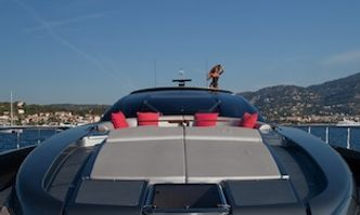 Silver Breeze yacht charter Riva Motor Yacht