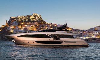 Maximus yacht charter Riva Motor Yacht