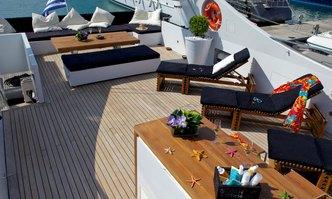 Tropicana yacht charter Admiral Yachts Motor Yacht