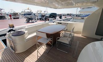 Annouka yacht charter Ferretti Yachts Motor Yacht