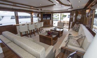 Carbon Copy yacht charter Hargrave Motor Yacht