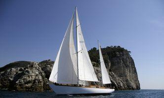 Cadama yacht charter Custom Sail Yacht
