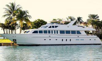 Beachfront yacht charter Hargrave Motor Yacht