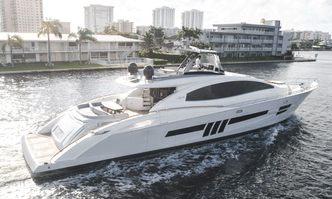 Helios yacht charter Lazzara Motor Yacht