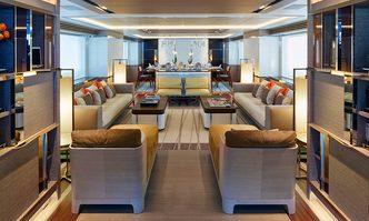 Asya yacht charter Heesen Motor Yacht