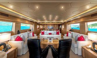 Gladius yacht charter Cantieri di Pisa Motor Yacht